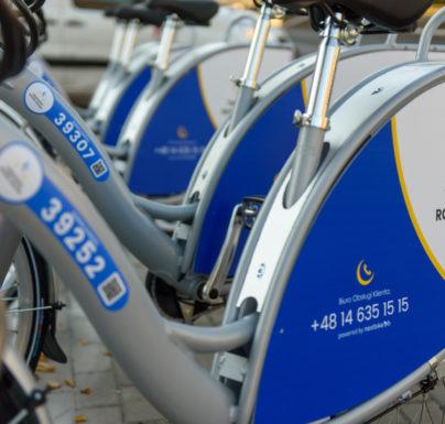 (Polski) Tarnowianie polubili miejskie rowery