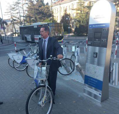 (Polski) Rowery miejskie dostępne w Tarnowie